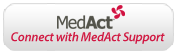 Connect with MedAct Support